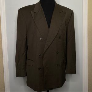 Jones New York blazer men's double breasted 46R